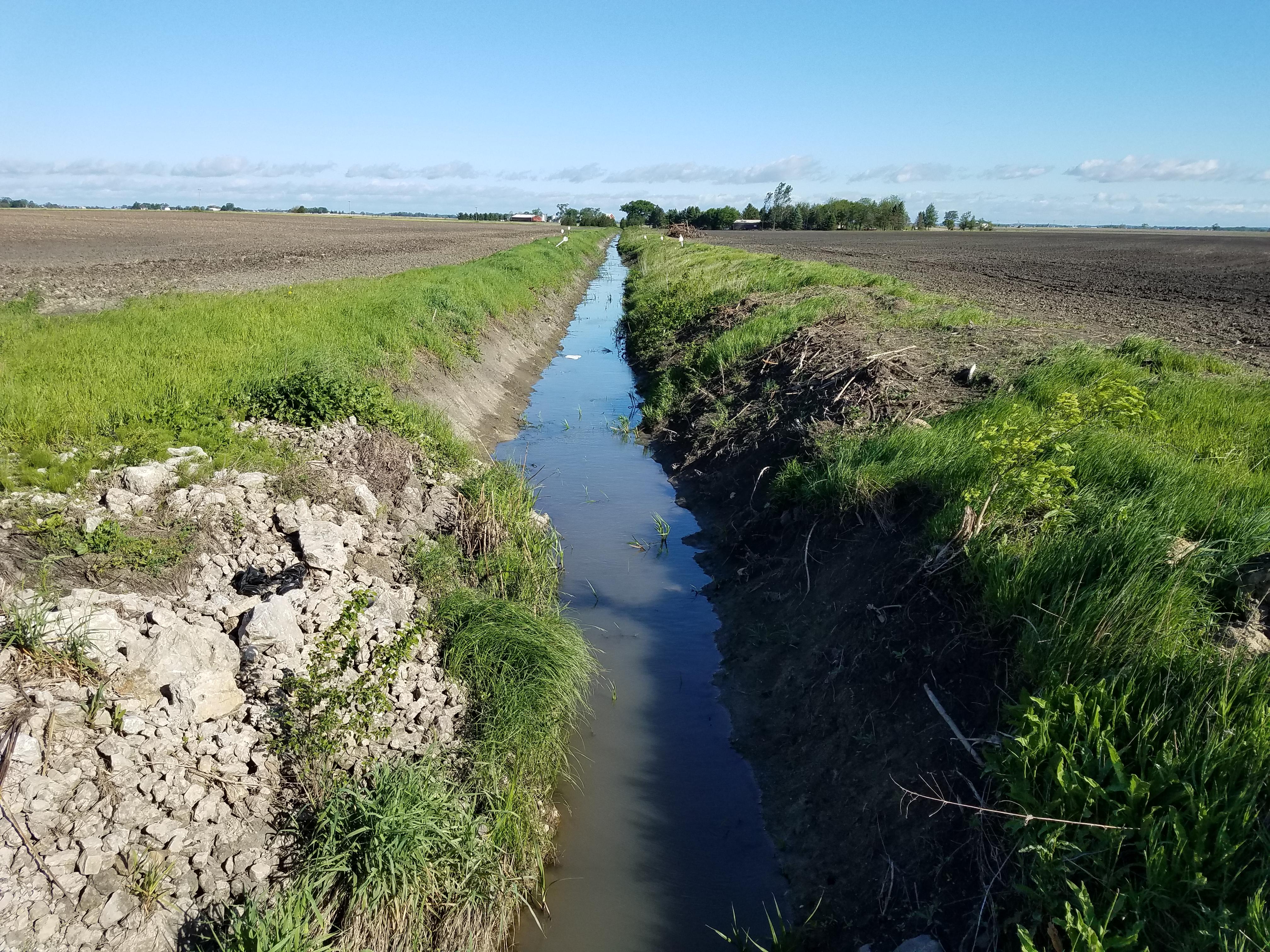 Phebus McCoy Farm of Drainage Ditch