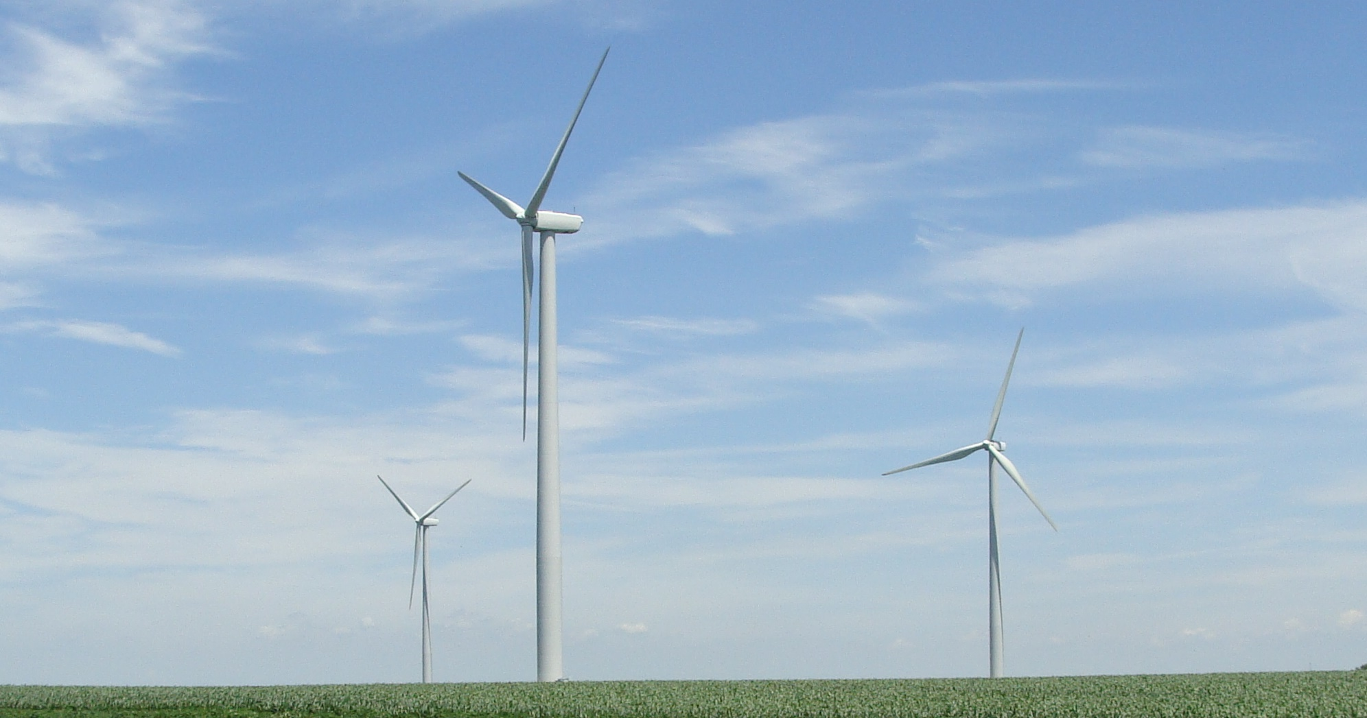 Picture of wind turbines