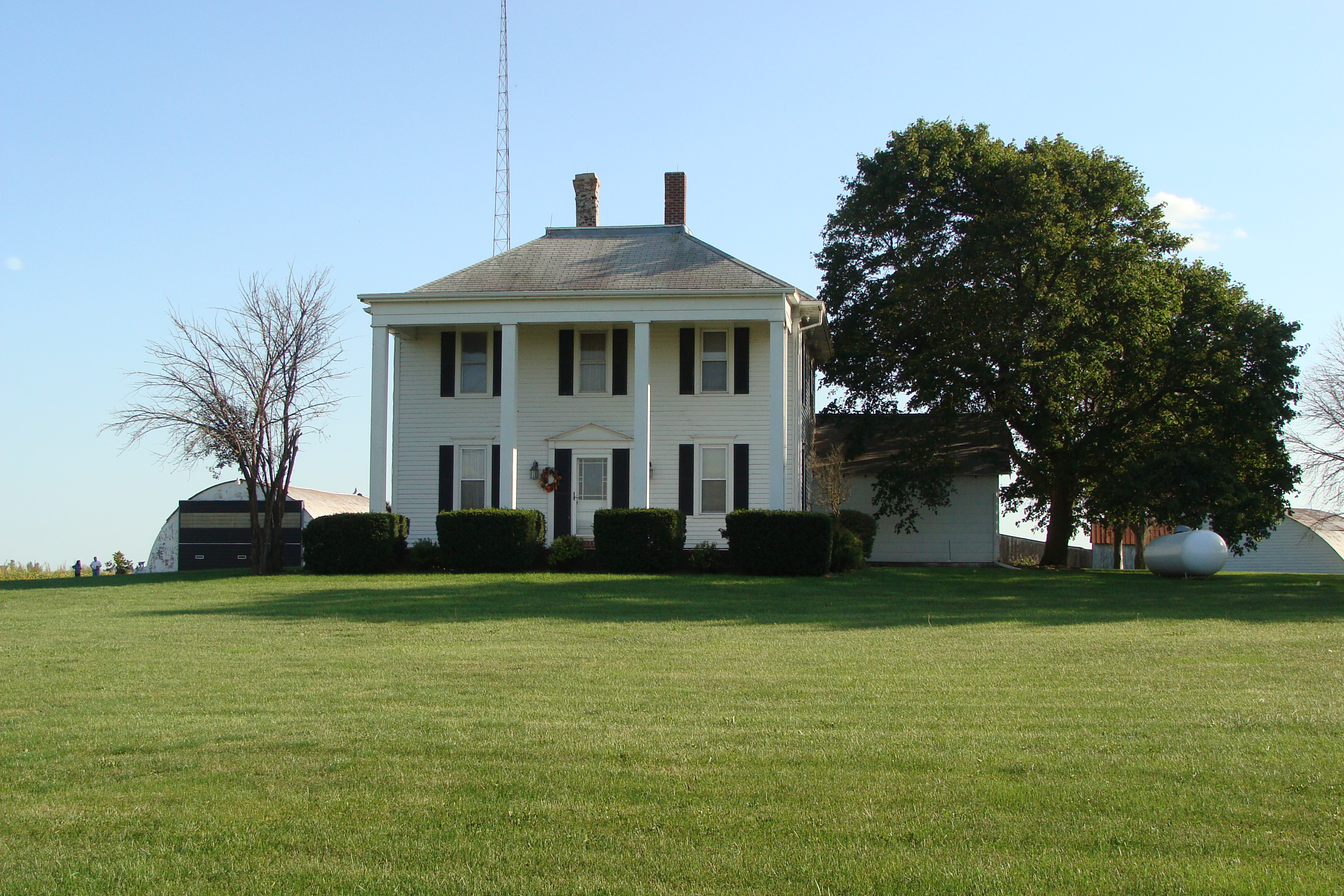 Picture of house of Streid farm.