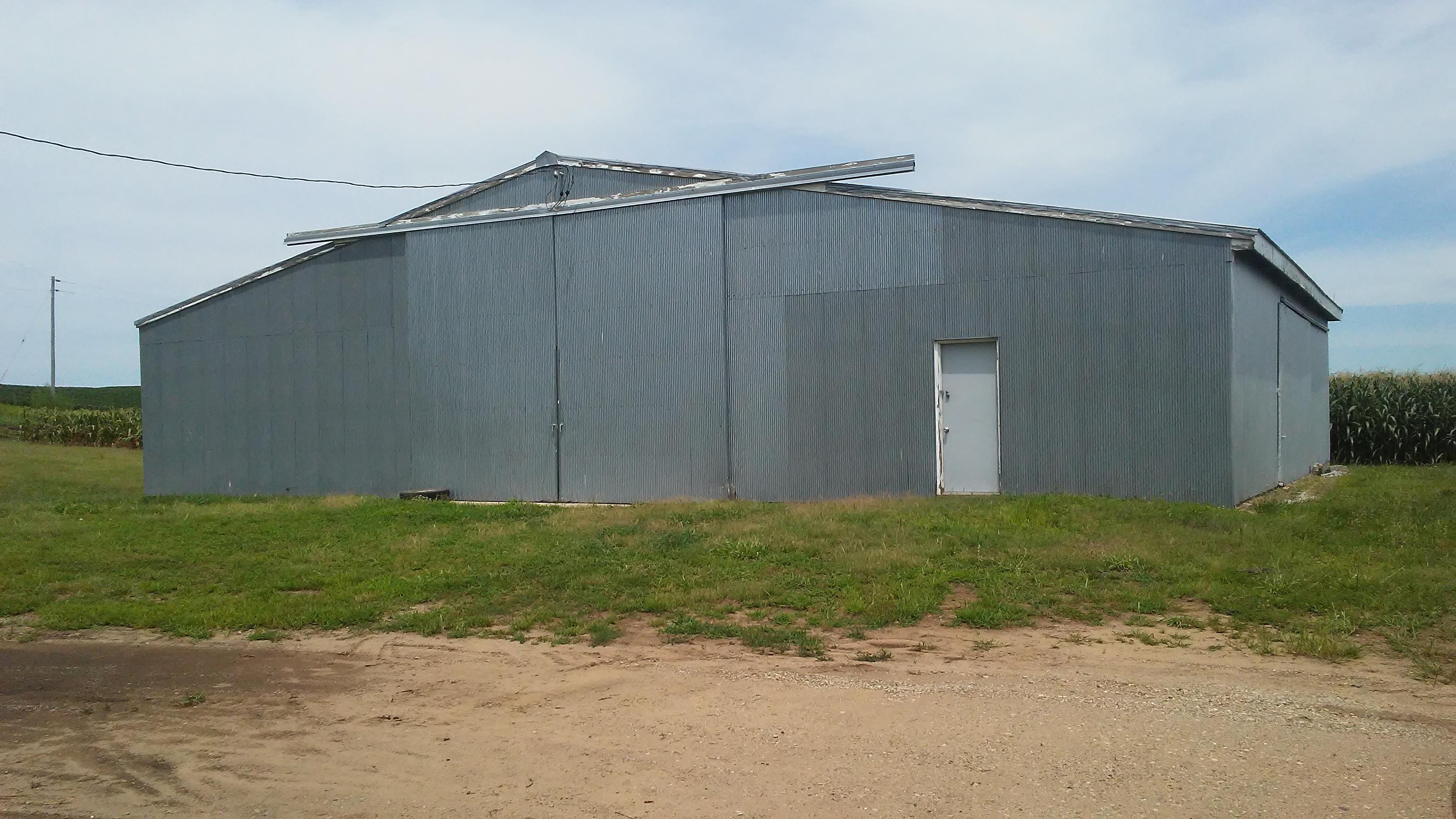 Big Grey shed