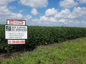 Picture of Soy Capital Ag for sale sign