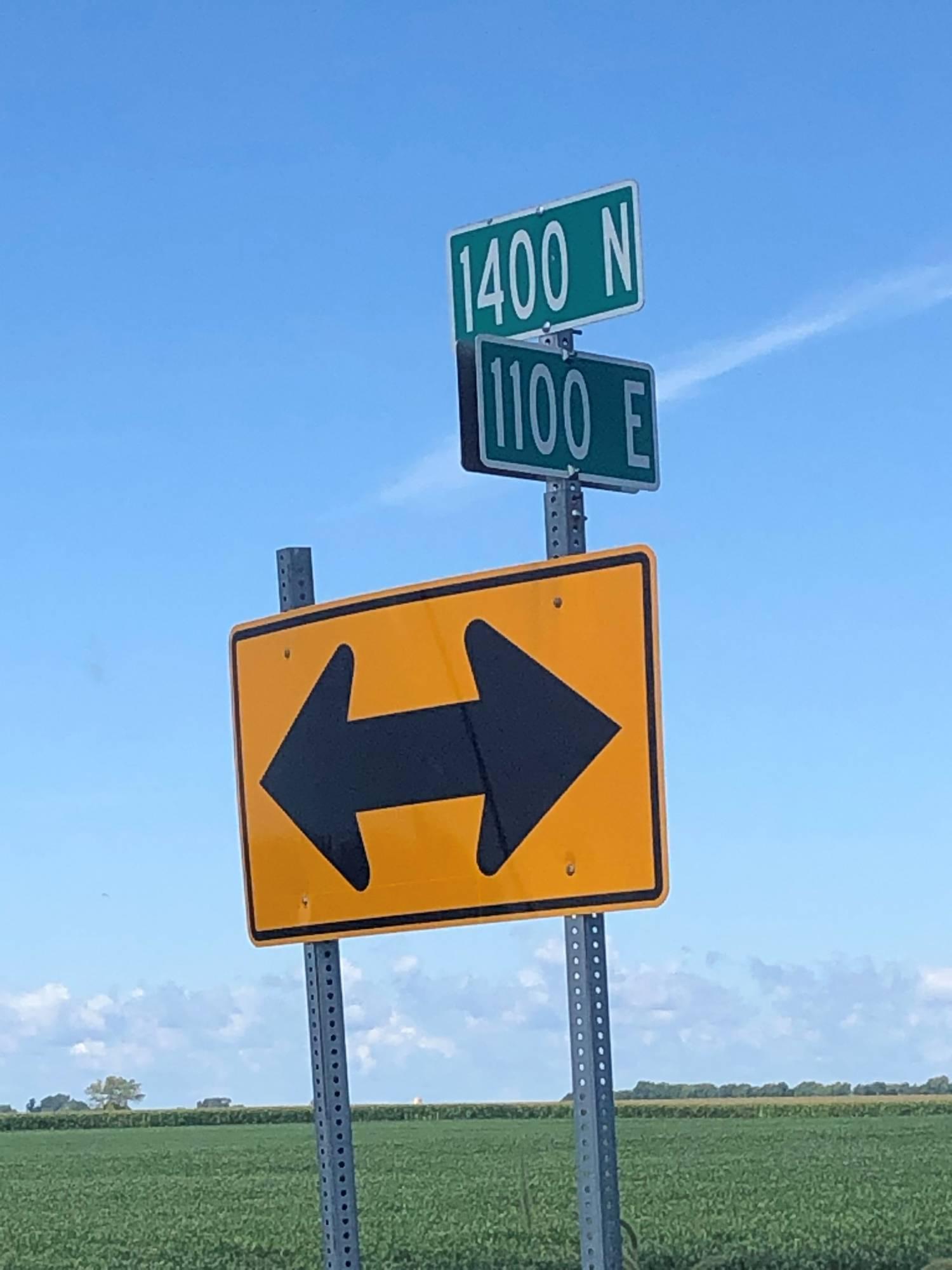 Pike Cross Roads Sign