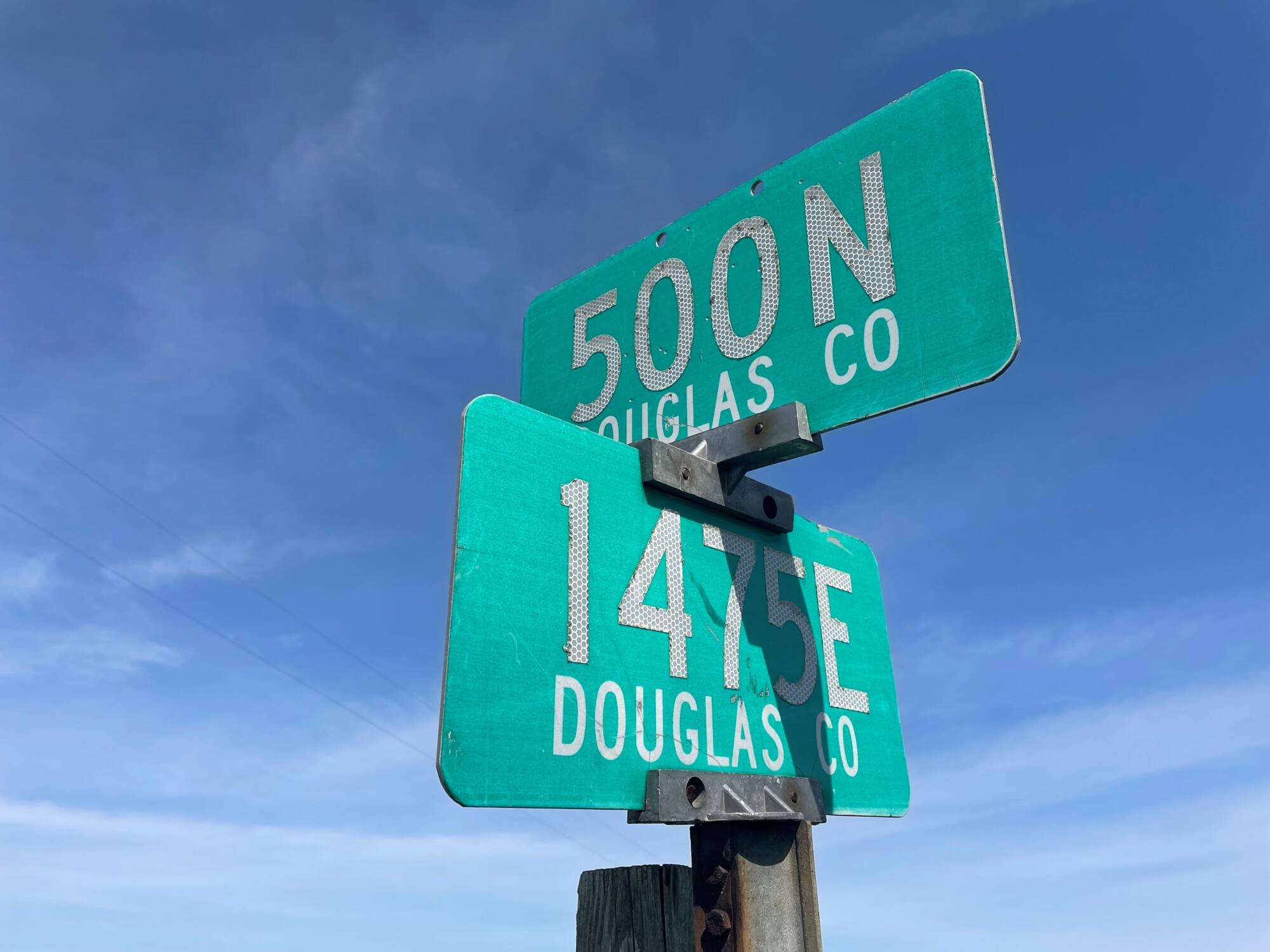 Seamans Crossroads Sign